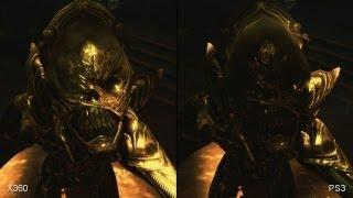 Aliens Colonial Marines: Xbox 360 vs. PS3 Comparison Video