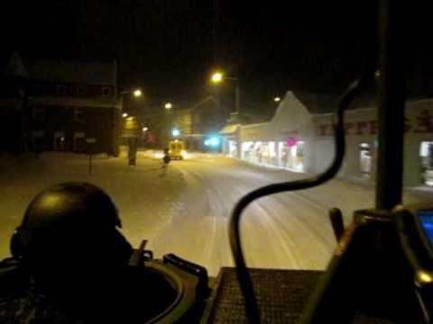 JDR på sneberedskab i Lemvig