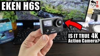 EKEN H6S REVIEW: 4K EIS Action Camera Footage and Video Test