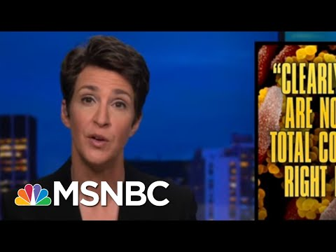 Reminder: Shudowns Are To Reduce Contacts And Control Spread | Rachel Maddow | MSNBC