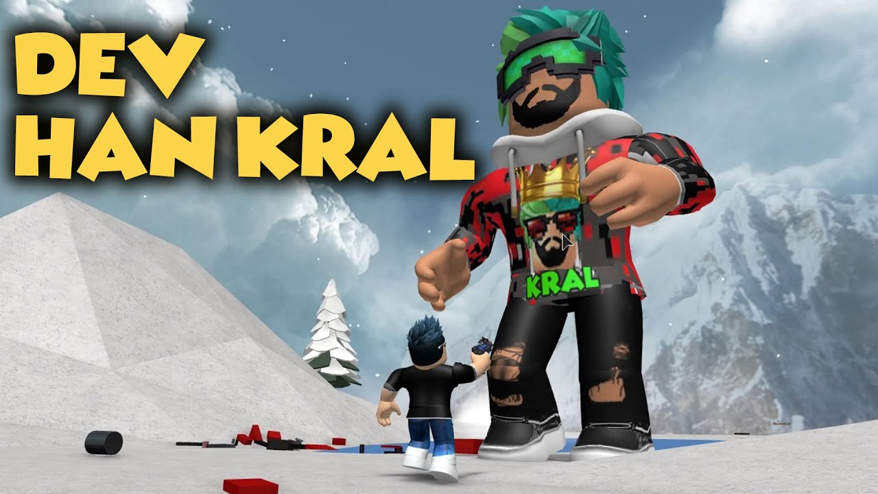 HAN KANAL DEV OLUP EKİBE SALDIRDI !!! / BATTLE AS A GIANT BOSS / ROBLOX TÜRKÇE
