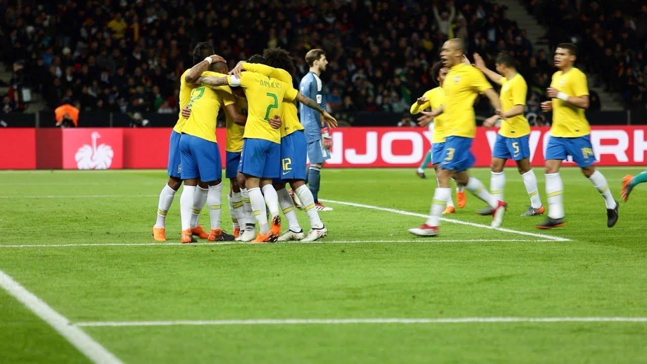 Seleção Brasileira Melhores Momentos Do Brasil Contra A Alemanha Youtube