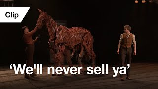Official Clip: War Horse | 'We'll never sell ya' | National Theatre at Home | Now Streaming