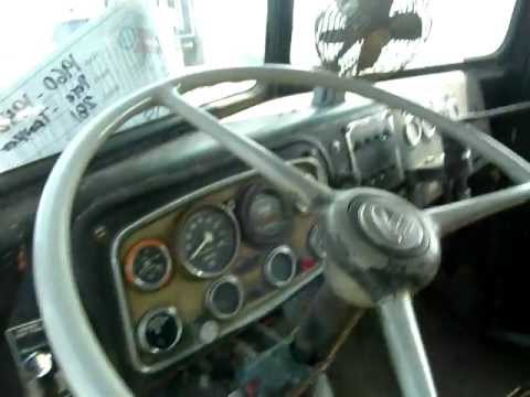 Inside the Duel Truck's Cab