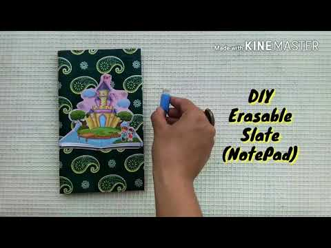 Erasable Notepad made with paper | DIY | Kids craft | Best out of waste | #74