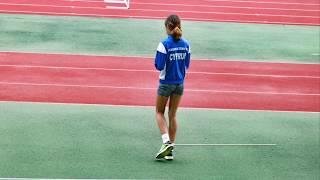 High Jump - 150 cm! Anastasia Bukatina, 11 years old:-))