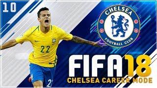 Fifa 18 chelsea career mode ep10 - brazil are insane!!