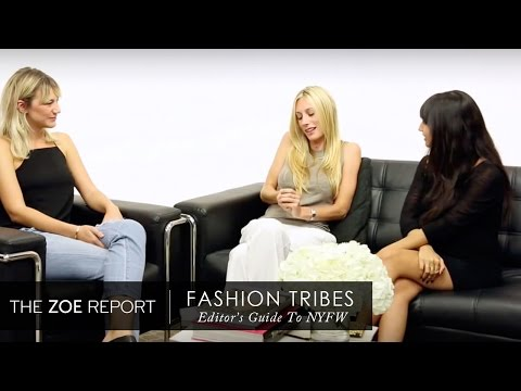 Fashion Tribes: A Guide to NYFW - The Stylists | The Zoe Report by Rachel Zoe