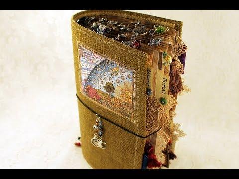 Nature - a junk journal travelers notebook