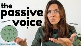 What is the Passive Voice? 😅 English Grammar Lesson