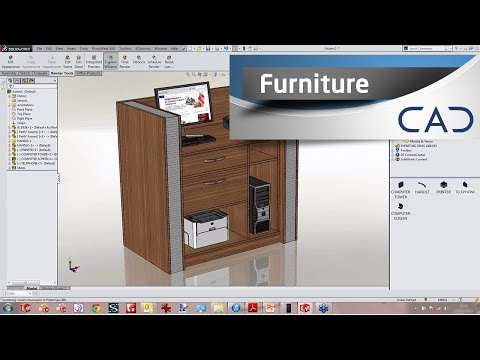 Designing Furniture In Solidworks You