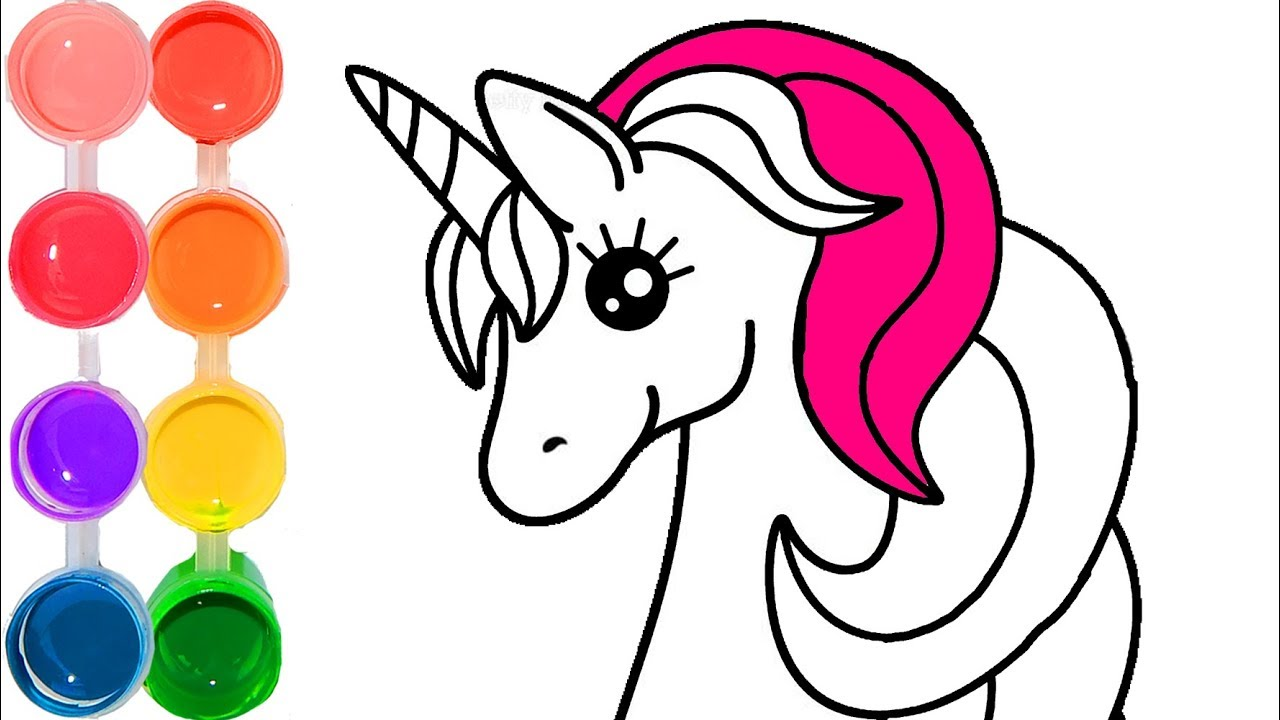 It's just a picture of Current Colorful Unicorn Pictures