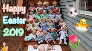 Happy Easter 2019! Reborn Baby Outfits 🐰🐣🌷 | Kelli Maple