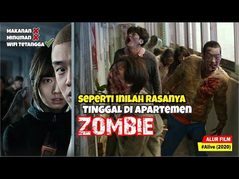 KETIKA APARTEMEN DI KOREA MENJADI TEMPAT TINGGAL PARA ZOMBIE | Alur Cerita Film Alive (2020) - Ruslar.Biz