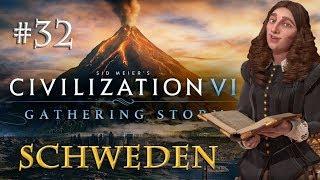 Let's Play Civilization 6 Gathering Storm - Schweden #32: Wer gegen wen? (deutsch)