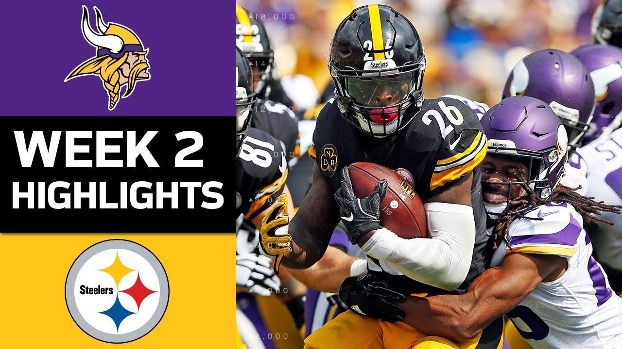 c0bd8660 Vikings vs. Steelers | NFL Week 2 Game Highlights
