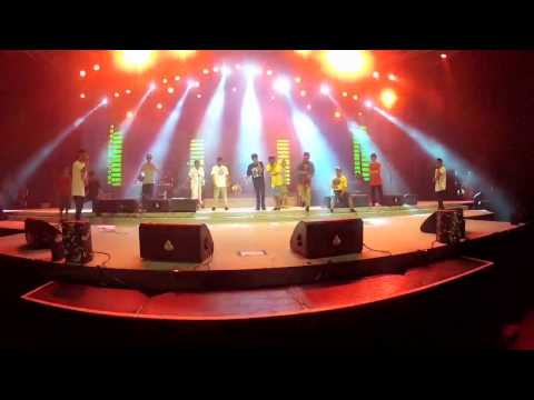UNDERCOVER BROTHERS Do freestyle @ Prj Main stage
