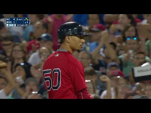 KC@BOS: Betts Lines An RBI Single To Left Field