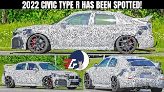 2022 Honda Civic Type R Confirmed! 11th Gen Civic Spy Shots REVEALED!  4K