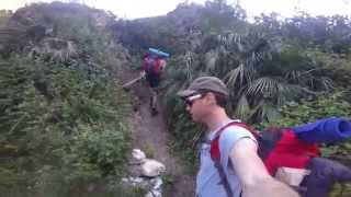El cortijo del Imán - ruta senderismo y acampada desde Nerja - Malaga -