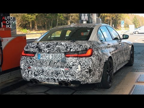 2020 BMW M3 G80 SPIED TESTING AT THE NÜRBURGRING