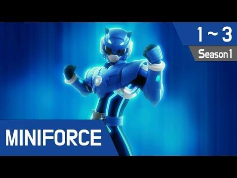 Miniforce Season 1 Ep 1~3