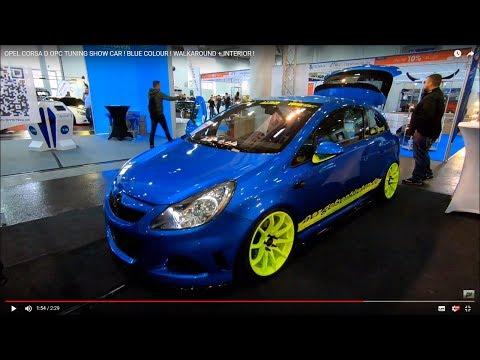 OPEL CORSA D OPC TUNING SHOW CAR ! BLUE COLOUR ! WALKAROUND + INTERIOR !