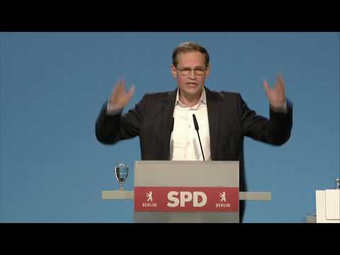 Michael Müller auf der Landesvertreter*innenversammlung