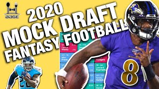 2020 Fantasy Football Live Mock Draft!