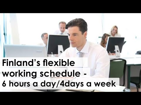 Finland-Introduces-Flexible-Working-Schedule-6-hrs-a-day-4-days-a-week.