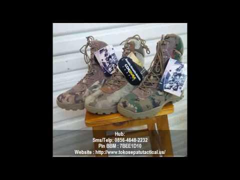 ciri sepatu delta force original