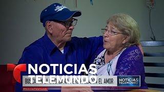 Sin quererlo, Trump provoca un flechazo entre dos ancianos | Noticiero | Noticias Telemundo