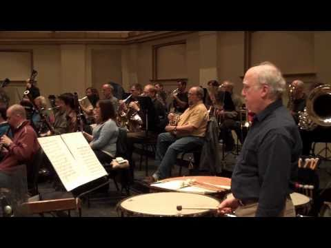 Video Blog - 2/23/11 Rehearsal of Tchaikovsky 6