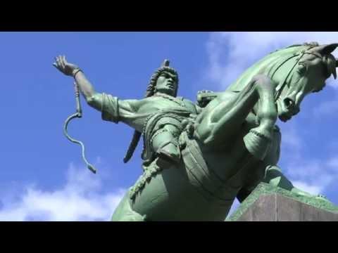 The largest equestrian statue in Europe ( Ufa) / Самый большой конный памятник в Европе (Уфа)