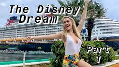 Disney Dream Cruise Vlog- Part 1