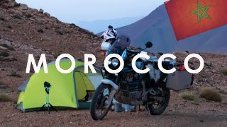 Alone in Morocco - A Motorcycle Dream Journey to Africa