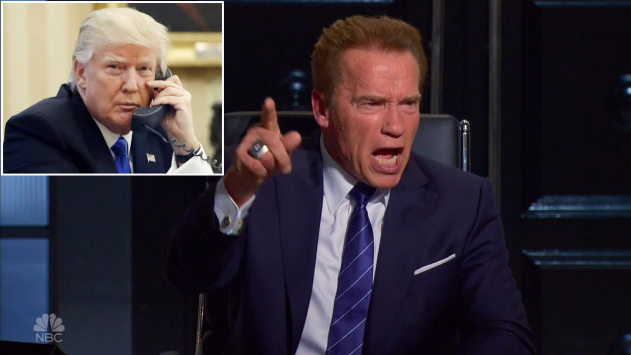 Arnold Bad donald says arnold schwarzenegger did a really bad as