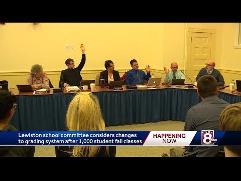 Lewiston school committee considers changes to grading system
