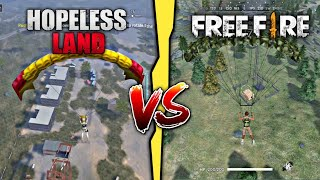 Free Fire VS Hopeless Land Which one is best | Game Comparison