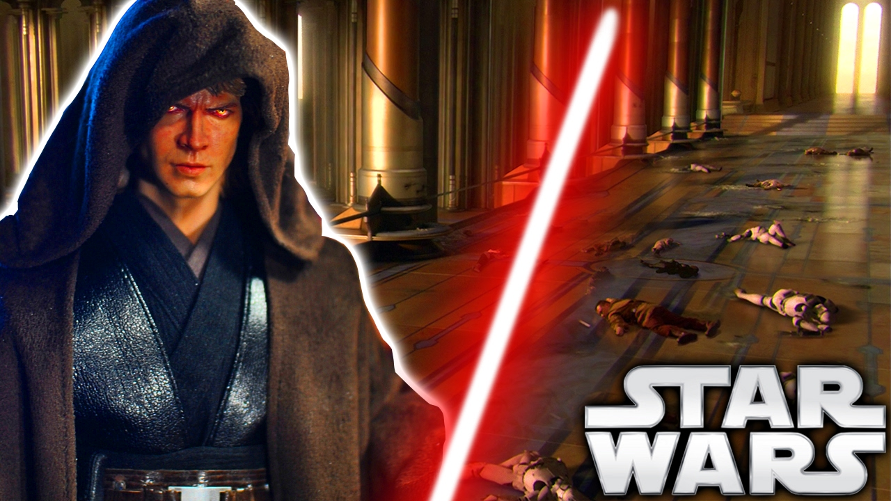 How Did Anakin Kill All Jedi At The Temple During Order 66 Revenge Of The Sith Star Wars Explained Youtube