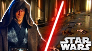 How Did Anakin Kill All Jedi at the Temple During Order 66? Revenge of the Sith -Star Wars Explained