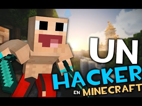 UN HACKER EN MINECRAFT AL MODO DIOS | Minecraft Hunger Games