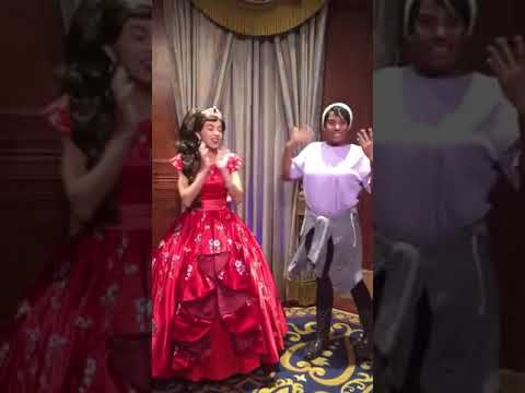 Nancy & Newman - A Princess Practicing Sign Language With Deaf Girl