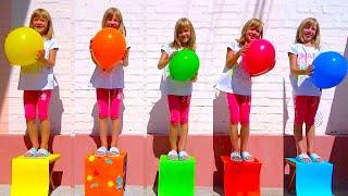 Five little monkeys | Kids song on kids channel Baby Time.