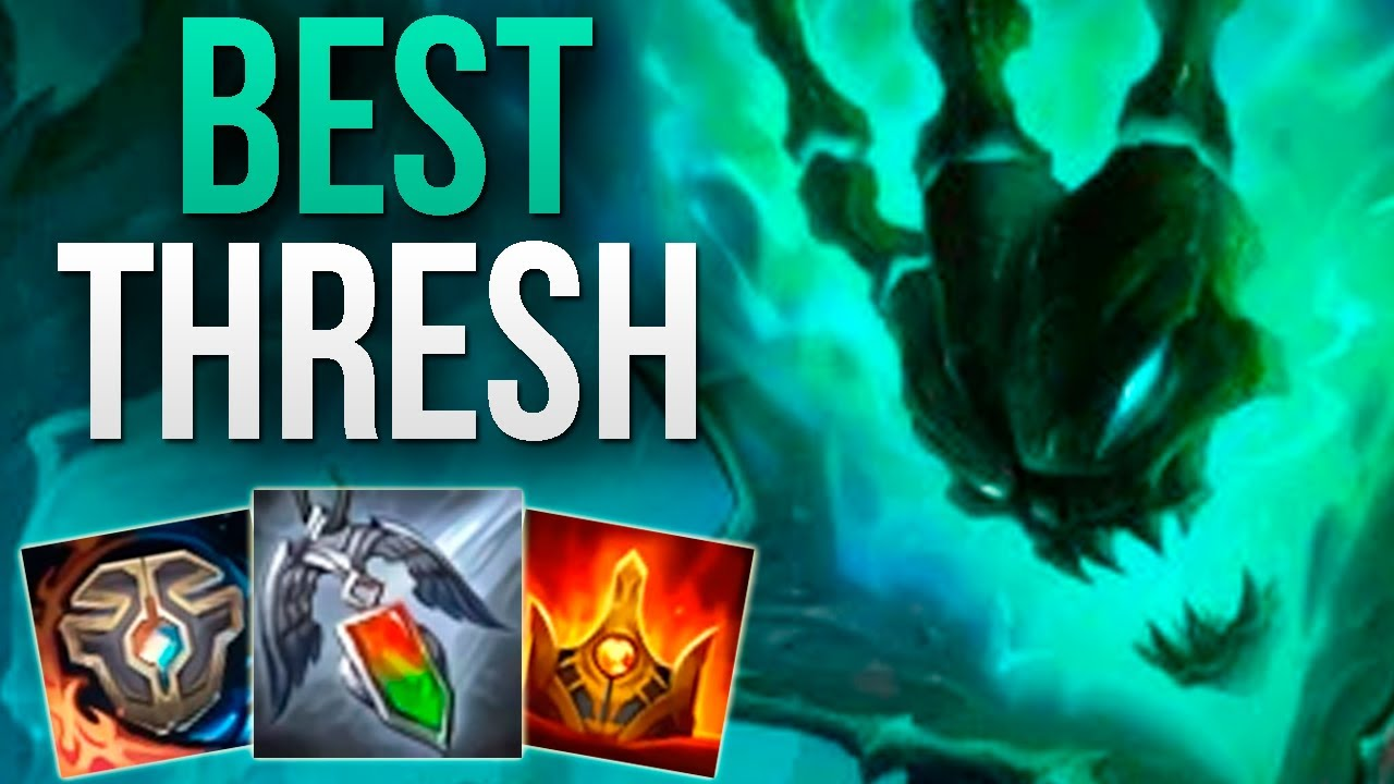 BEST THRESH IN THE WORLD FULL GAMEPLAY! | CHALLENGER THRESH SUPPORT | Patch 10.9 S10