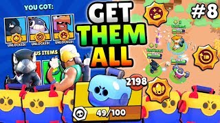 GEMMING CRAZY NEW STAR POWERS u0026 TESTING IN SHOWDOWN FEAST OR FAMINE IN BRAWL STARS! #8