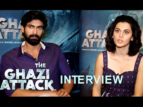 Taapsee Pannu Rana Daggubati Talk On THE GHAZI ATTACK | Full Interview | Review