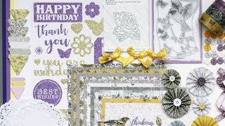 Crafty Ola 39 s Card kit of the Month 39 18 39 39 Nature 39 s Grace 39 39 revealed