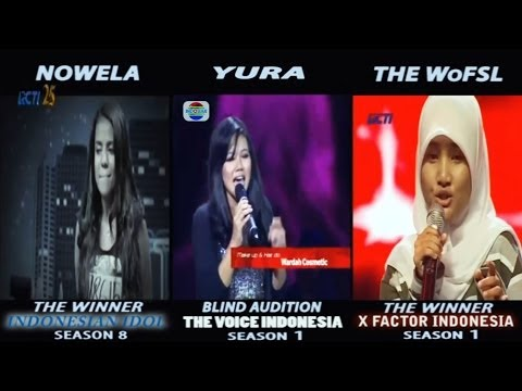 Who's Your Favorite Mercy...??? (IDOL vs THE VOICE vs THE X FACTOR)