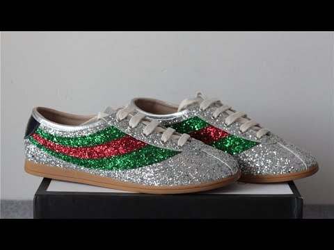 2018 Bling Bling Gucci Shoes With